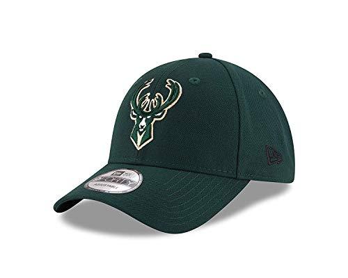 super popular 3fad8 606ad New Era Milwaukee Bucks Green NBA The League Adjustable Dad Hat