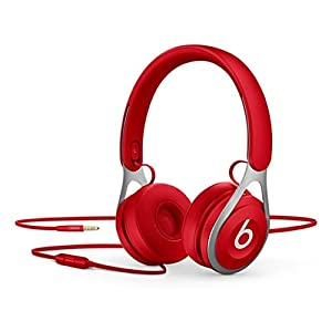 Beats Ep Wired On-Ear Headphones – Battery Free For Unlimited Listening, Built In Mic And Controls – Red