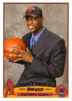 2003 04 Topps Basketball  225 Dwyane Wade Rookie Card