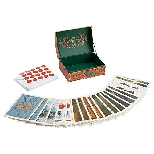 Enesco Wizarding World of Harry Potter Quidditch Stationery Boxed Notecard Set, 5