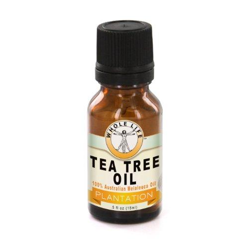 Whole Life Tea Tree Oil – (Melaleuca Alternifolia Essential Oil) 100% Australian, Natural, Pure, Unadulterated and Undiluted. Natural aid for skin prone to Acne. Therapeutic Grade. 15 ml (1/2 oz) -  WLSC-TTO-E