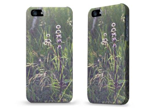 """Hülle / Case / Cover für iPhone 5 und 5s - """"Distel"""""""