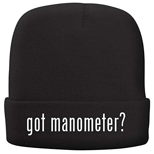 BH Cool Designs got Manometer? - Adult Comfortable Fleece Lined Beanie, Black