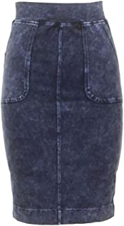 product image for Hard Tail Forever Womens Knee Length Cargo Pencil Skirt Style W-414