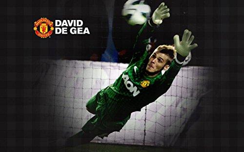 XXW Artwork David De Gea Poster Professional footballer Prints Wall Decor Wallpaper