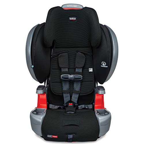 41nauL0Jr L - Britax Grow With You ClickTight Plus Harness-2-Booster Car Seat | 3 Layer Impact Protection - 25 To 120 Pounds, Jet Safewash Fabric [New Version Of Pinnacle]