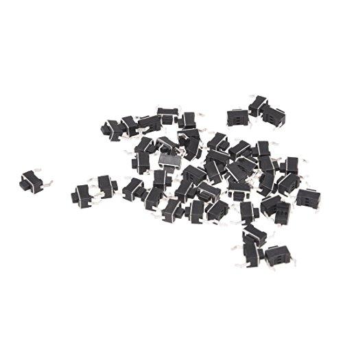 SODIAL (R) 44 개 6x3.5x5mm 2 핀 순간 DIP 촉감 전술 푸시 버튼 스위치 / SODIAL(R) 44pcs 6x3.5x5mm 2 pin Instant DIP Tact Push Button Switch