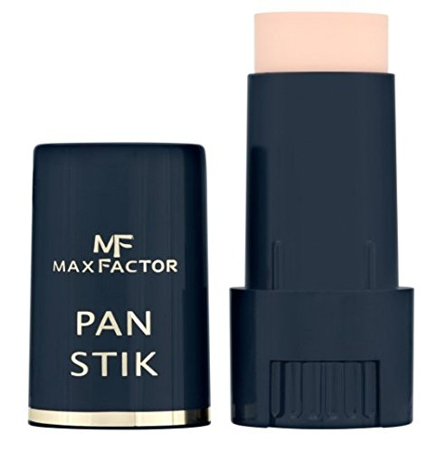 Max Factor Panstik Foundation - 25 Fair + FREE Assorted Purse Kit/Cosmetic Bag Bonus Gift