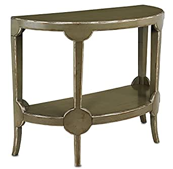 Currey and Company 3116 Beaumanor - Console Table, French Gray Finish