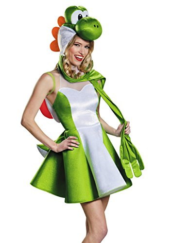 Yoshi Female Version Costume, Tween X-Large (14-16) ()