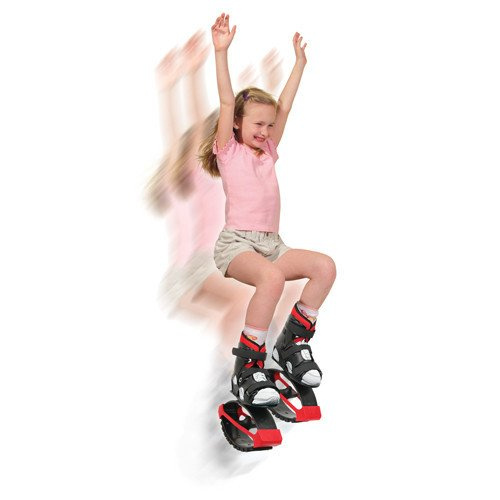Air Kicks Small 55-99 Lbs Includes Step Counter by American Pogo Stick