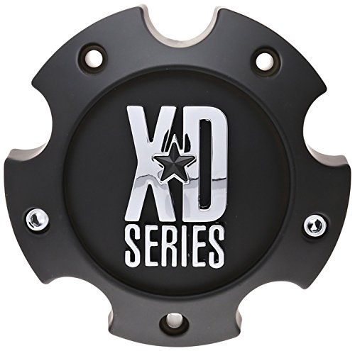 KMC XD Series 796 797 798 Matte Black 5 Lug Wheel Rim Center Cap 1079L145A (Matte Rims Black)