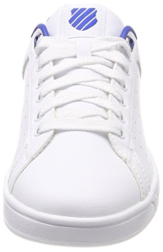 Court Blue Clean classic white Sneakers Blanc Homme Cmf K swiss white Basses OFwnaqqEv
