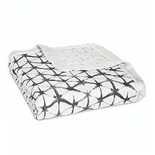 aden + anais Silky Soft Dream Blanket, Pebble Shibori