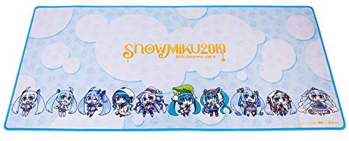 Thermaltake Tt Esports Dasher Extended Hatsune Miku Limited Edition Gaming Mouse Pad Snow Miku 2019 Edition Semi-Coarse Surface Non-Slip Rubber Base 35.43