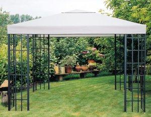 Frisch Amazon.de: Universal Ersatzdach Metallpavillon 3x3 grau extra  VT85