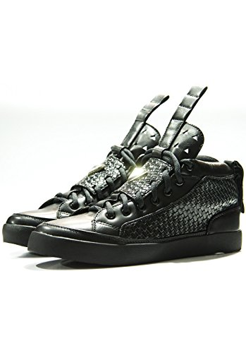 Magic Custom - Baskets Sneakers ToP Gun Black - Noir - 43