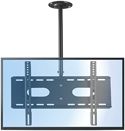 Suptek Ceiling TV Wall Mount Fits up to 60 inch LCD LED Plasma Monitor Flat Panel Screen Display with VESA 600×400 Max Loaded up to 165lbs Height Adjustable with Tilt and Swivel Motion MC5602