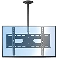 Suptek Ceiling TV Mount Bracket Fits up to 60 LCD LED Plasma Monitor Flat Panel Screen Display with VESA 600x400 (Max) Loaded up to 165lbs Height Adjustable With Tilt and Swivel Motion MC5602