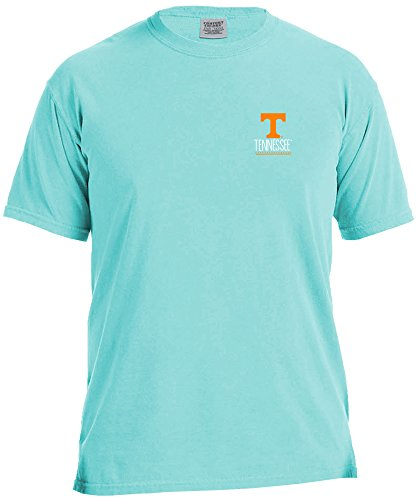NCAA Tennessee Volunteers Life Is Better Comfort Color Short Sleeve T-Shirt, Island Reef,IslandReef - Tennessee Volunteers College Basketball