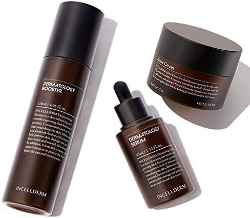 incellderm 3種セット Dermatology First Package+Active Cream+shopping bag ブースター120ml +セラム45ml +クリーム50ml