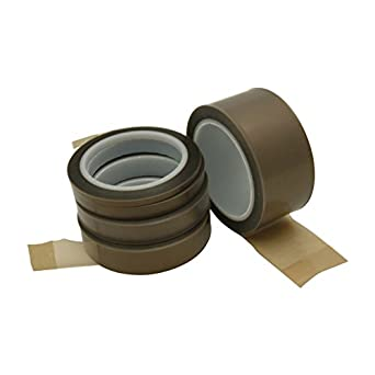 JVCC PTFE-2HD Skived Teflon Tape [2 mil carrier, High Density] (36 yds. long)