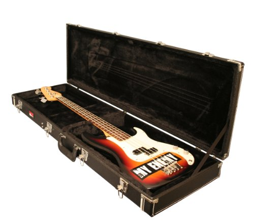 Wood Bass Case Laminated Guitar (Gator Cases Deluxe Wood Case for Bass Guitars (GW-BASS))