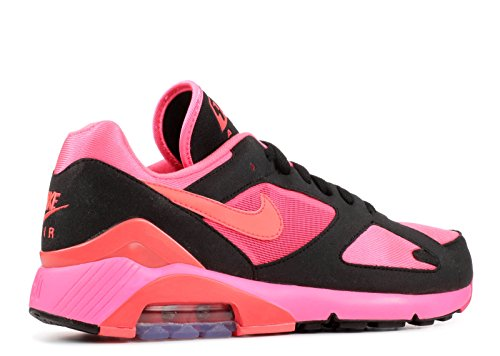 T-shirt Nike Lady Miler Manica Corta Laser Rosa / Rosso Solare-nero