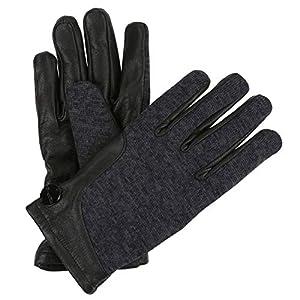 Regatta Women's Gelsey' Knit Effect Leather Gloves