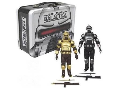 Battlestar Galactica Cylons with Tin Tote San Diego Comic Con Exclusive by Unbranded