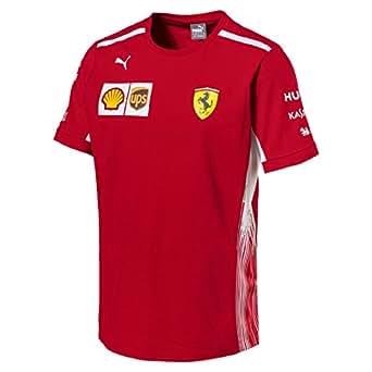 ferrari scuderia formula 1 men 39 s red 2018 team t shirt w sponsors sports outdoors. Black Bedroom Furniture Sets. Home Design Ideas