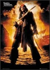 johnny depp poster pirate