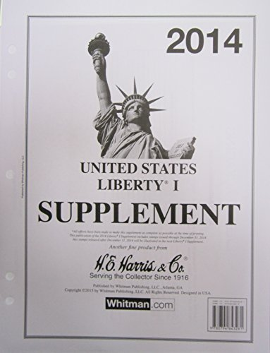 2014 Liberty 1 Stamp Album Supplement