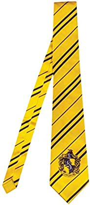Harry Potter Necktie Costume Accessory, Movie Quality Hogwarts House Themed Character Dress Up Tie for Adults