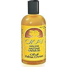 Okay 100% Pure Haitian Castor Oil, 4 oz by Okay