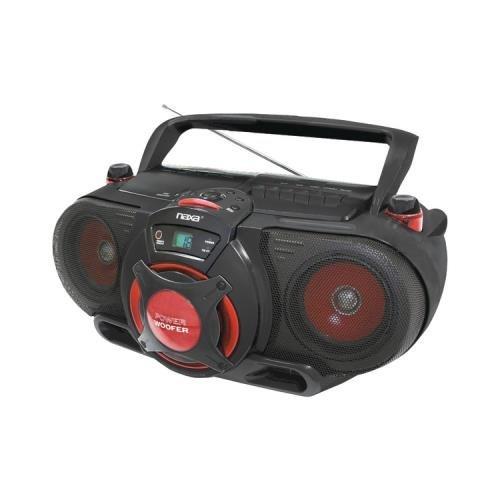 NAXA NPB259 Portable CD/MP3 & Cassette Player & AM/FM Rad...