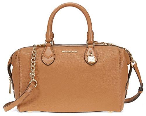 Michael Kors Grayson Large Convertible Pebbled Leather Satchel - - Bags Kors Michael Cheap