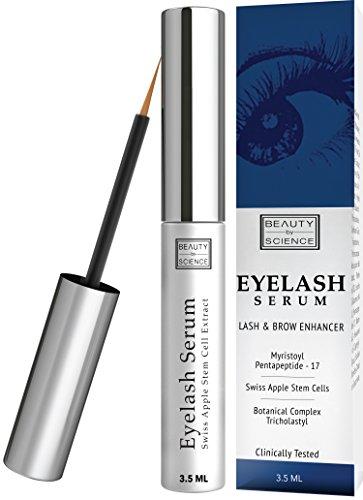 Eyelash Growth Serum - Dermatologist & Allergy Tested - Eyelash Enhancer for Thicker, Fuller and Longer Eyelashes and Brows – 3.5 ML