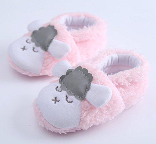 Botas philna12bebé algodón antideslizante cálido suave Sneaker Crib oveja de zapatos para bebé