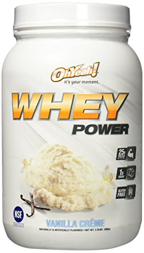 ISS Research Oh Yeah Whey Power Powder, Vanilla, 2 Pound