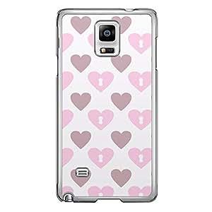 Loud Universe Samsung Galaxy Note 4 Love Valentine Printing Files A Valentine 89 Printed Transparent Edge Case - Multi Color
