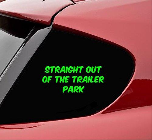 【タイムセール!】 Straight B078C7FWC6 Out of the of Trailer Parkビニールデカールステッカー(ライムグリーン) Out B078C7FWC6, ノトガワチョウ:3ba9459d --- a0267596.xsph.ru