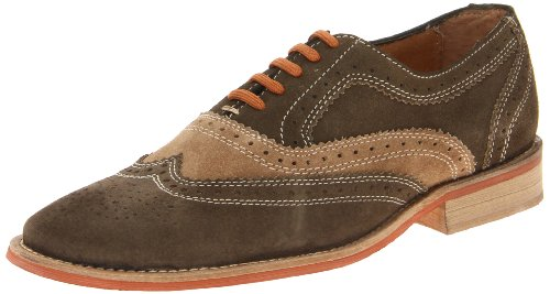 Giorgio Brutini Men's 65877 Wing Tip Oxfords,Green,11 M Brutini Wingtip