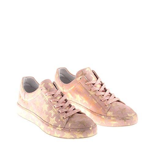 B635 Cuir en Véritable Multicolore Chaussures Multicolore avec Trump Amour Baskets Femme Felmini Tomber qztwT0Ox