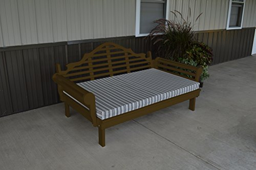75 Inch Pine Indoor or Outdoor Marlboro Daybed Amish Made- Coffee Paint ()