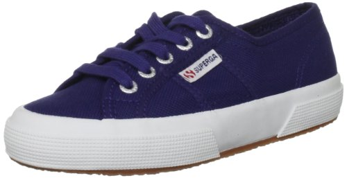 Unisex Superga Classic Bambini Bianco Sneaker 2750 C54 Ultramarine 18 Blu Jcot FPxTZ