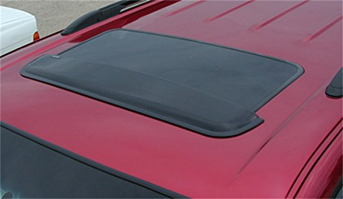 Wade 72-33102 32.5-Inch Wide Smoke Tint Sunroof Wind Deflector