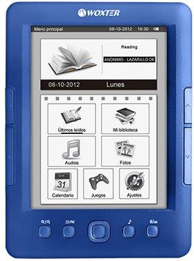 LIBRO ELECTRONICO WOXTER EBOOK E-INK SCRIBA 170 BLUE WX570: Amazon ...