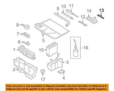 Audi OEM 09-17 Q5 Jack-Rear Body & Floor-Tow Eye 8K0805615