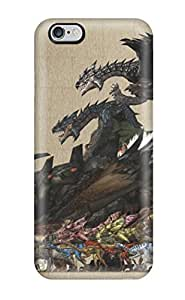 Hot JOa6862hSfM Monster Hunter Freedom Unite Monster Cases Covers Compatible With Iphone 6 Plus